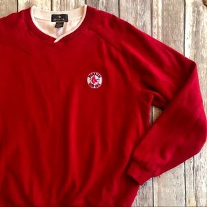 BOSTON RED SOX Antigua Red Sweatshirt - Medium